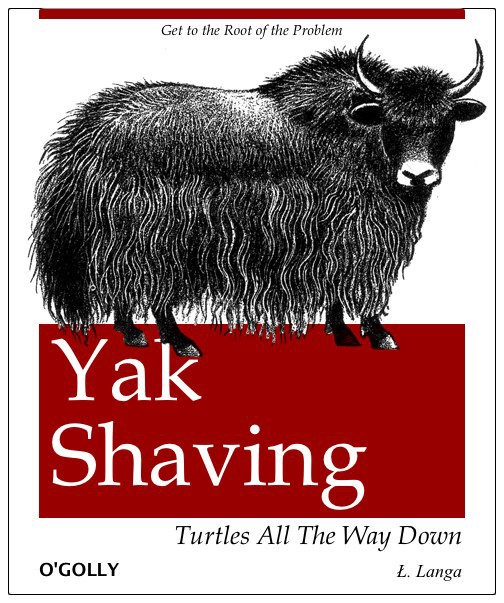A book on yak shaving